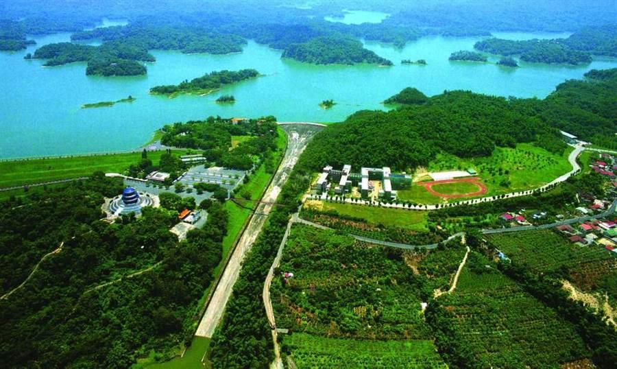 烏山頭水庫。(圖取台南旅遊網)