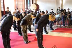 忠烈祠春祭國殤 韓國瑜提醒海陸把香「插正」