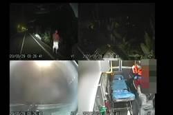 台東車禍男為了1杯水 竟出腳踢救護人員