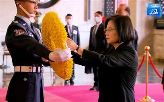 影》蔡英文總統 出席109年忠烈祠殉職致祭