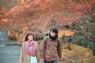趕上京都最美楓紅!孫可芳冷到忘台詞、宋柏緯為美景失神