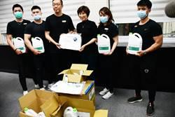 台東在地威豪健身會 捐贈防疫物資給各單位