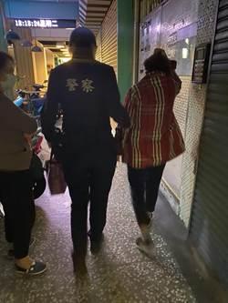 9旬婦散步迷途 永和警溫馨送返家