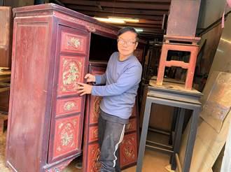 古家具醫生陳麗全為國寶級藝術家陳庭詩收藏再現風華