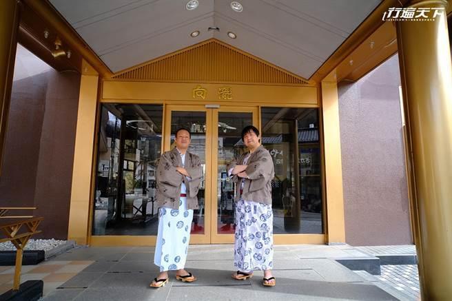 向瀧旅館有著兩位親切的若旦那迎接每日上門的客人(圖片提供/若旦那們)