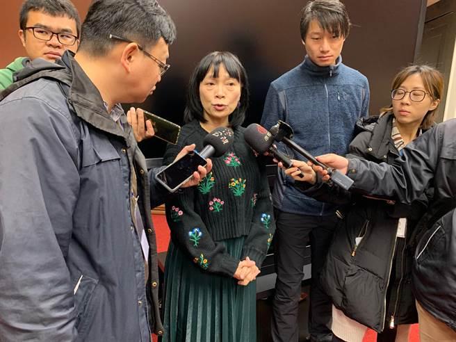 促轉會代理主委楊翠。(報系資料照)