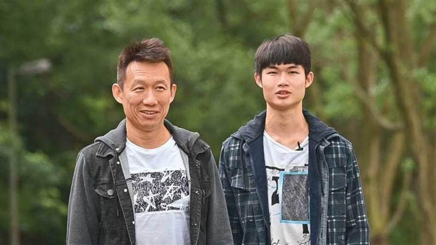 19歲的郭德君對表演有興趣,郭子乾除了全力支持,也為兒子做好心理建設。(圖/台灣優質生命協會提供)