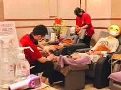足體養生館向醫護人員致敬 按摩有優惠