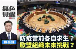 無色覺醒》賴岳謙:防疫當前各自求生? 歐盟組織未來挑戰?