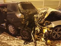 男酒駕連環撞6汽機車 台中1死5傷