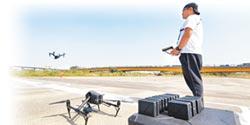 勤練空拍機 中市消防兄弟考取高級證照