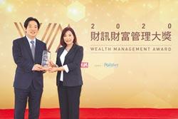 中國信託銀行 榮獲財訊4大獎項殊榮