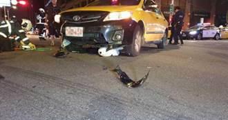 機車小黃對撞 騎士卡車底重傷死亡