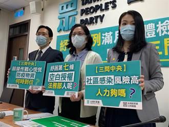 藍委憂防疫調派警力影響治安 高虹安:百業蕭條是政府的責任