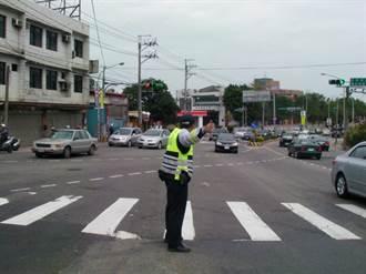 連假將至人車潮湧入 龍潭警分局將加強交通疏導