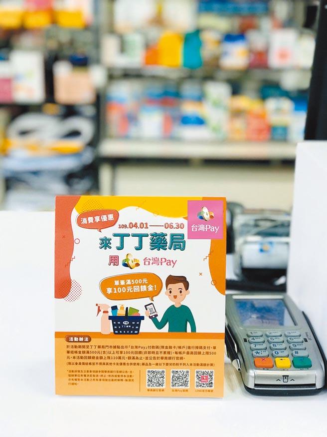 跨業響應口罩實名制2.0,台灣Pay推出免收單手續費優惠。圖/業者提供