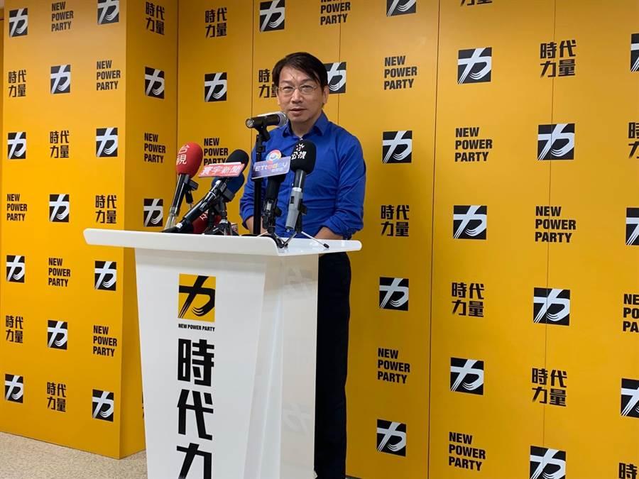 前時代力量黨主席徐永明。(報系資料照)
