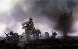 士兵跳傘誤入敵軍陣營 秒獲千俘虜