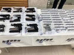 防疫肅槍無空窗期  警今年已查獲362把黑槍