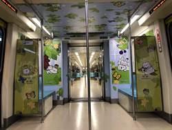 探索森林親子彩繪列車啟動 結合兒童新樂園一日票手環