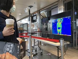 攜便當咖啡搭台鐵影響測體溫 花蓮站複測額溫更便捷