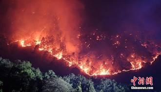 四川西昌森林火災 基本控制