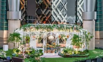 法式優雅庭院就在台北101!品酒、風格講座 防疫也安心
