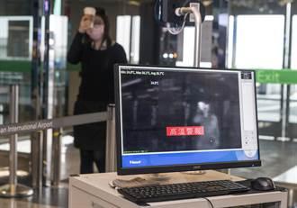 桃機實施入站管控首日 1送機民眾體溫過高被拒入內