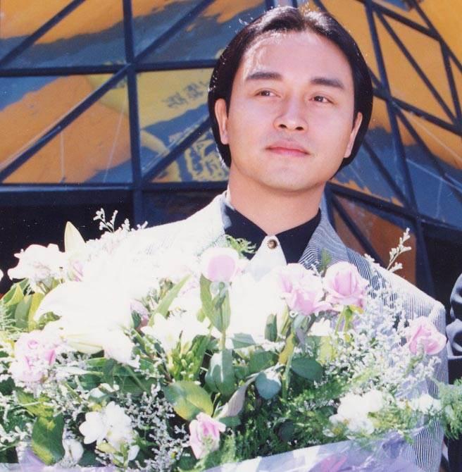 張國榮為一受媒體認證的女友倪詩蓓,這段純愛讓他坦言很難忘。(中時資料照片)