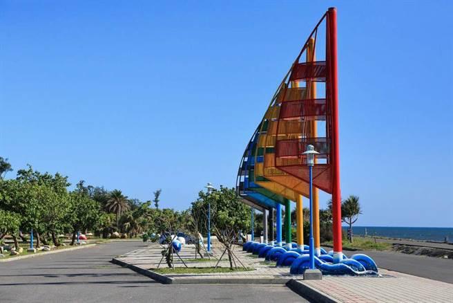鯤喜灣親水公園是休閒好去處。(取自台南旅遊網)