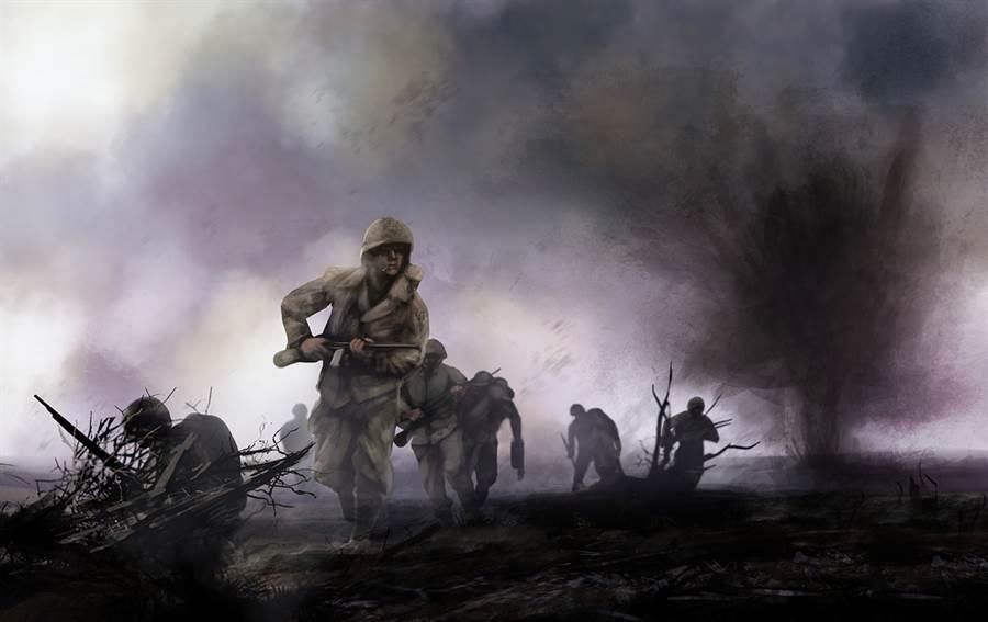 士兵跳傘誤入敵軍陣營 秒獲千俘虜(示意圖/ 取自達志影像)