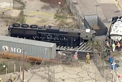 懷疑美軍將接管洛杉磯 男子開火車撞醫療船