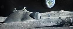 太空人小便可成為月球基地材料