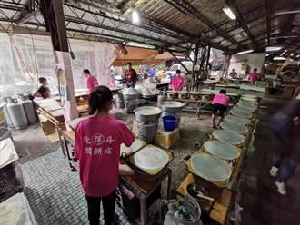 北斗80年潤餅老店不敵疫情 46爐只開一半訂單狂掉3成