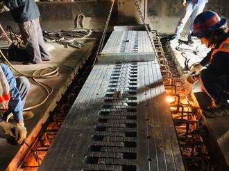 台一線高架橋伸縮縫更換完成  還給民眾安全行車環境