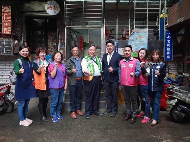 基市議員攜手地方社區共組「幸福冰箱」讓惜食愛物更有福。(林旻勳服務處提供/吳康瑋基隆傳真)