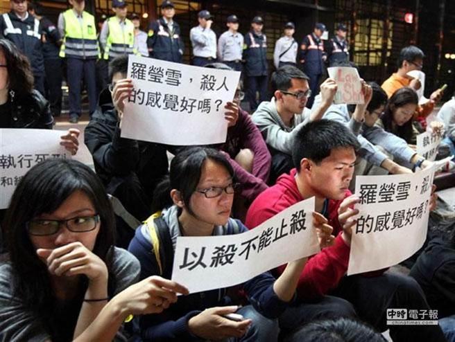 翁仁賢伏法後,廢死聯盟大動作抗議也再度引起熱議。 (圖/本報資料照)