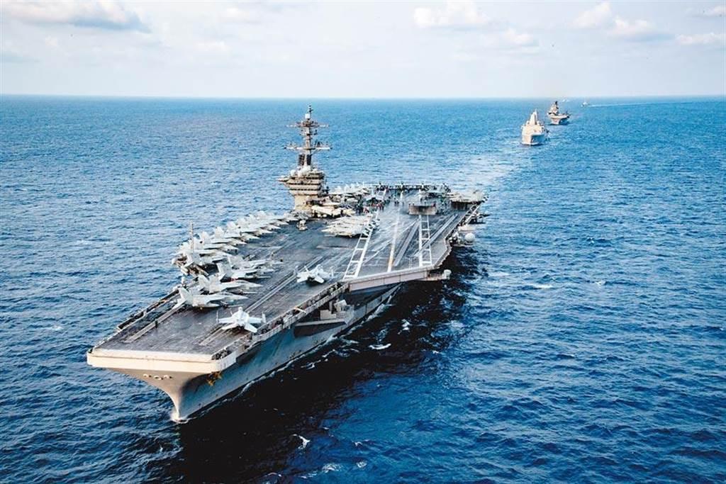 美国罗斯福号航母。取自美国海军官网