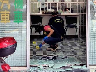 台南當舖遭槍擊  疑槍手借錢不成憤開槍
