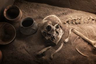 海底巨穴發現頭骨 最早美洲人模樣曝光
