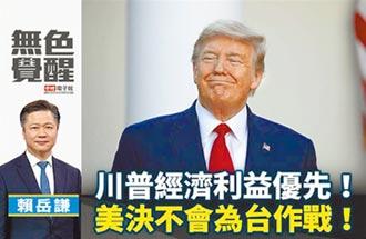賴岳謙:川普經濟利益優先!美決不會為台作戰!