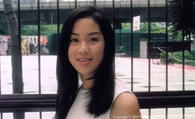 徐子淇在《誤人子弟》的青澀模樣。(取自YouTube)