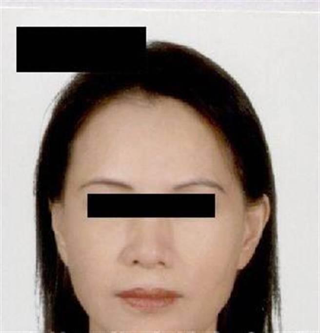 警方提供死者林姓婦人的照片,請民眾幫忙指認。(警方提供/林瑞益高雄傳真)