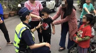 5歲童騎車撞特斯拉 挺胸勇敢酒測身影曝...網被萌翻