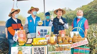 外銷銳減 韓市長帶頭賣鳳梨