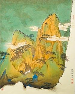 陳茂榮寄情於青綠山水