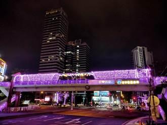 「一軸四橋」點亮台灣大道 加碼點燈至5月底