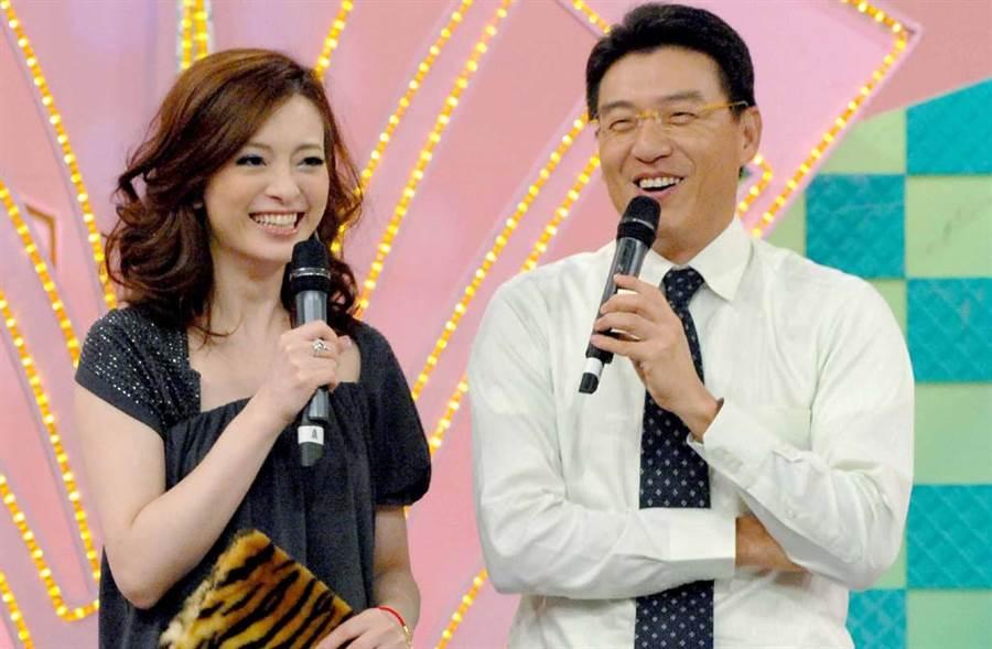 謝震武曾跟劉真搭檔主持節目。(中時資料照片)