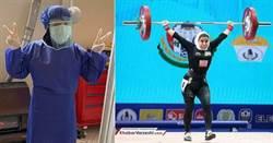 舉起醫療的重量 伊朗女舉重選手當護理師