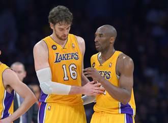 NBA》蓋索:初見布萊恩在凌晨一點半